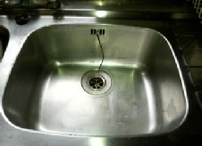 sink -  after